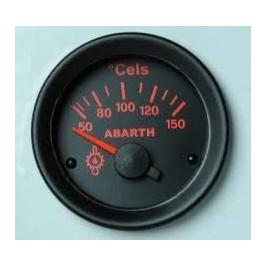 Road Italia Manometro Termometro Olio Abarth 500 52mm