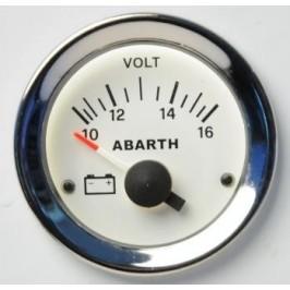 Road Italia Voltmetro Abarth 500 52mm